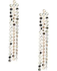 Guess - Milli Multi-tone Linear Earrings - Lyst