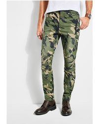Guess - Carter Camo Painted Pants - Lyst
