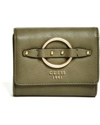Guess - Dixie Small Trifold Wallet - Lyst