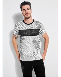 Guess - All In Palm Graphic Tee - Lyst
