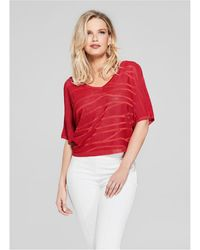 Guess - Dary Sweater Top - Lyst