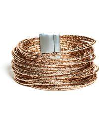 Guess - Millie Rose Gold-tone Wrap Bracelet - Lyst