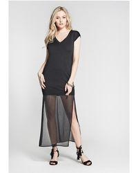 Guess - Nisha Sweater Maxi Dress - Lyst