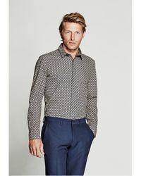 Guess - Printed Slim-fit Shirt - Lyst