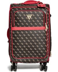 """Guess - Fairleigh 20"""" Spinner Suitcase - Lyst"""