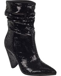 Guess - Nakitta Sequin Slouchy Booties - Lyst