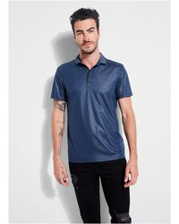 Guess - Mason Short-sleeve Shine Polo - Lyst