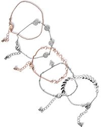 Guess - Maxie Dainty Bracelet Set - Lyst