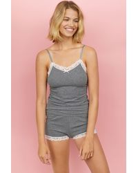 H&M - Pajama Camisole Top And Shorts - Lyst