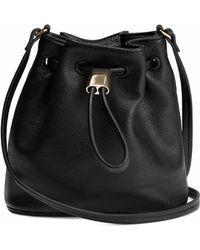 H&M Small Bucket Bag - Black