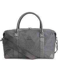 H&M Cotton Canvas Weekend Bag - Grey