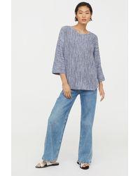 H&M - Purl-knit Jumper - Lyst