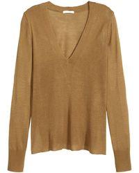 H&M | Fine-knit Jumper | Lyst