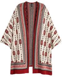 H&M | Jacquard-knit Cardigan | Lyst