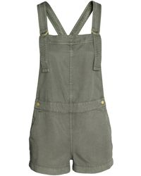 H&M - Dungaree Shorts - Lyst