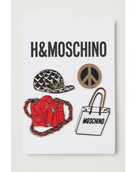 H&M 4-pack Pin Brooches - Multicolour