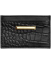H&M Leather Card Holder - Black