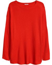 H&M - + Knitted Jumper - Lyst