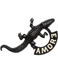 H&M - Crocodile Brooch - Lyst