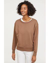 H&M - Sweatshirt - Lyst