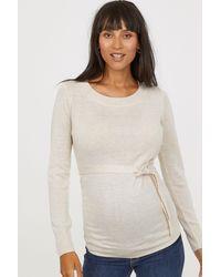 H&M - Mama Knit Sweater - Lyst