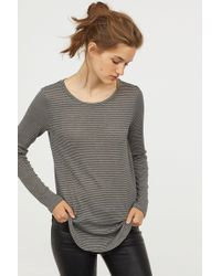 H&M - Fine-knit Top - Lyst