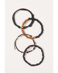 H&M 4-pack Bracelets - Brown