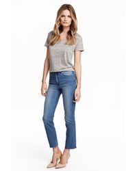 H&M Slim High Superstretch Jeans - Blue