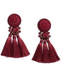 H&M - Earrings With Tassels - Lyst