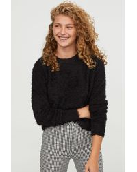 H&M - Fluffy Sweater - Lyst