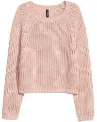 H&M - Rib-knit Jumper - Lyst