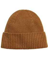 H&M - Ribbed Cashmere Hat - Lyst