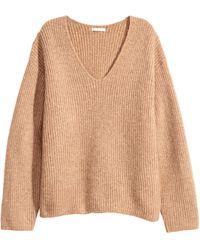 H&M - Wide-cut Sweater - Lyst