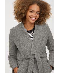 H&M - Wool-blend Coat - Lyst