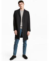 H&M   Wool Coat   Lyst