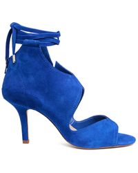 H&M - Suede Sandals - Lyst
