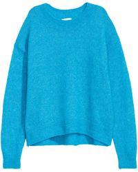 H&M - Loose-knit Jumper - Lyst