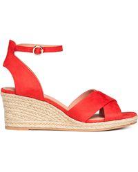 H&M - Wedge-heel Sandals - Lyst