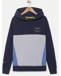 Hackett - Panelled Hooded Sweater - Lyst