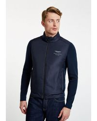 Aston Martin Racing Moto Hybrid Cotton Jacket - Blue