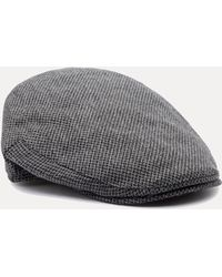 32bf3153ed5 Christys  Balmoral Tweed Flat Cap in Green for Men - Lyst