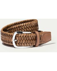 Hackett - Plaited Belt - Lyst