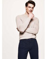 Hackett - Elbow-patch Wool Sweater - Lyst