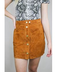 FRAME Patch Pocket Skirt - Multicolor