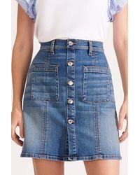 Veronica Beard - Deena Patch Pocket Skirt - Lyst