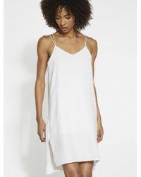 Halston - Slip Dress - Lyst
