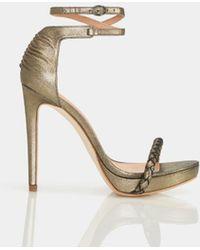 Halston - Meggie Sandal With Ankle Strap - Lyst