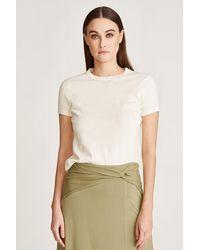 Halston Serena Sweater T-shirt - Natural