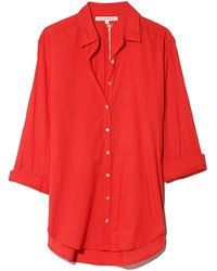 Xirena Beau Shirt - Red
