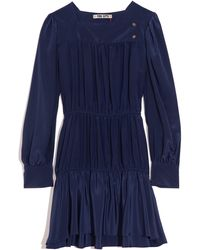Ciao Lucia Alessandra Silk Exclusive Dress - Blue